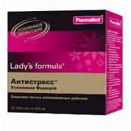 """Цены на Lady's formula Ледис формула Антистресс """"Усиленная формула"""" Киев"""