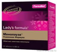 Цены на Lady's formula Ледис формула Менопауза «Усиленная формула» Киев