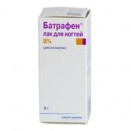 Цены на Батрафен лак для ногтей 8% Киев