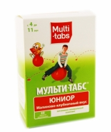 Цены на Multi-tabs / Мульти-табс Юниор витамины Киев